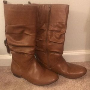 Express Tall Boots ~ Warm Toffee Size 8